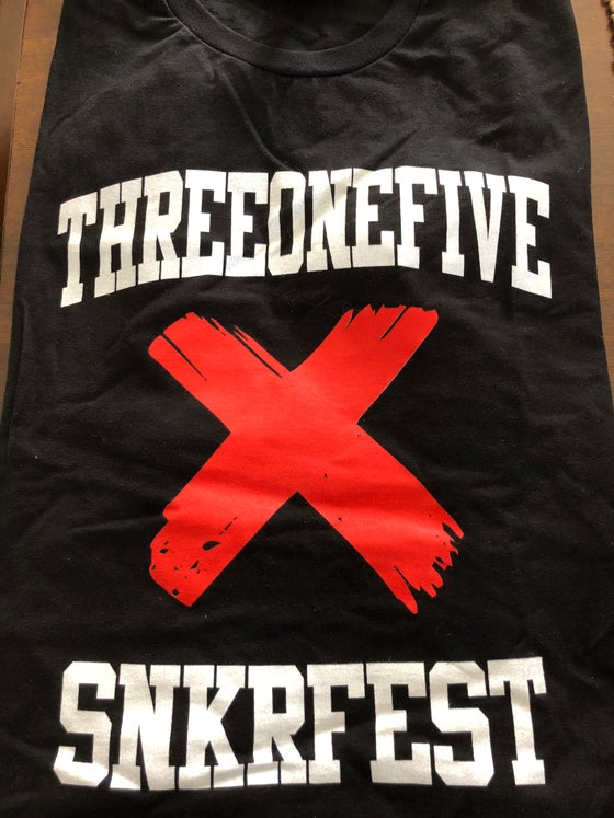 "Image of 315 Sneaker Fest ""Banned"" T-shirt"