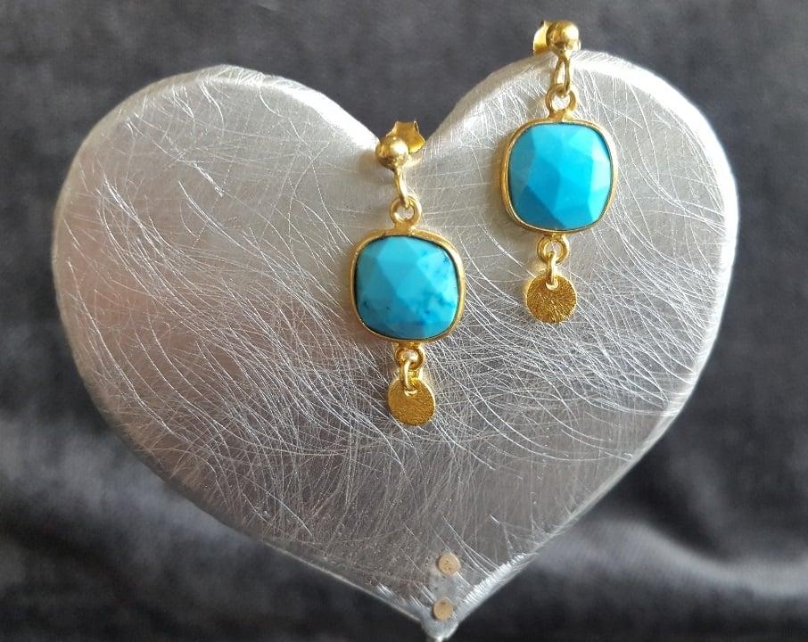 Image of Turquoise earrings
