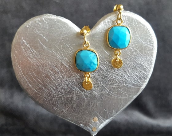 Image of Turquoise earrings
