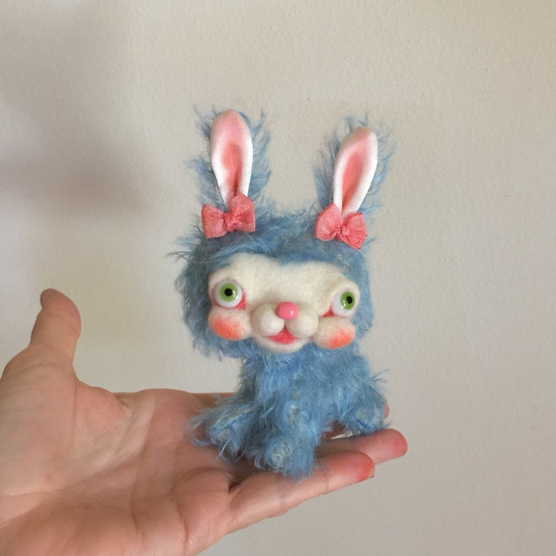 Image of Babs the Tiny Yak-faced Bunny