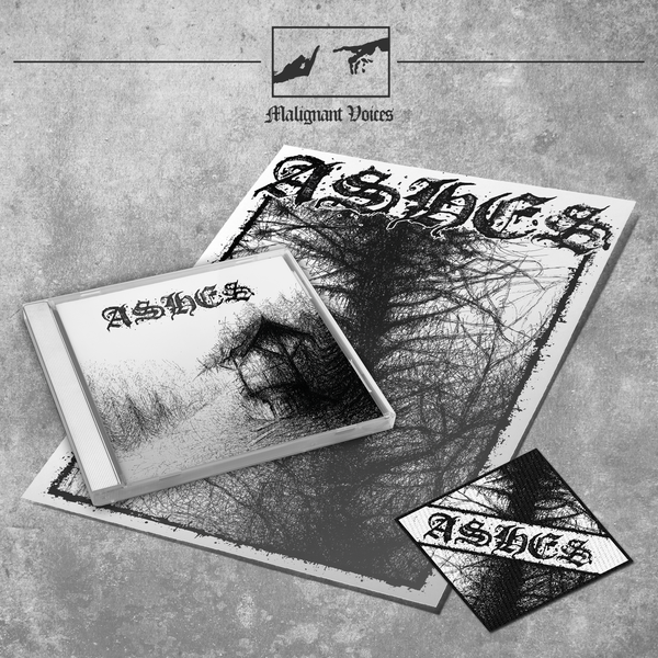 Image of ASHES - 'Ashes' lim. jewelcase CD with patch