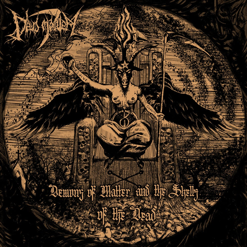 Image of DEUS MORTEM - 'Demons of Matter and the Shells of the Dead' MCD