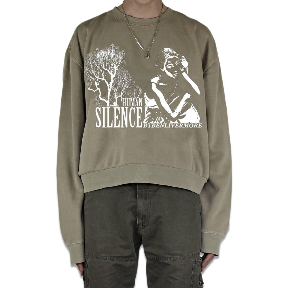 Image of Human Silence Sweatshirt (beige)