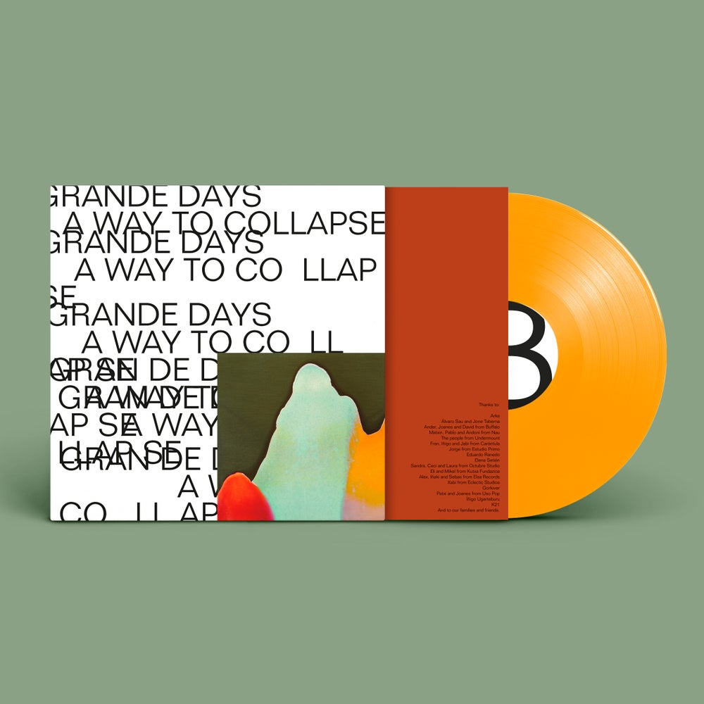Image of Grande Days - A Way to Collapse (Limited edition / Orange vinyl)
