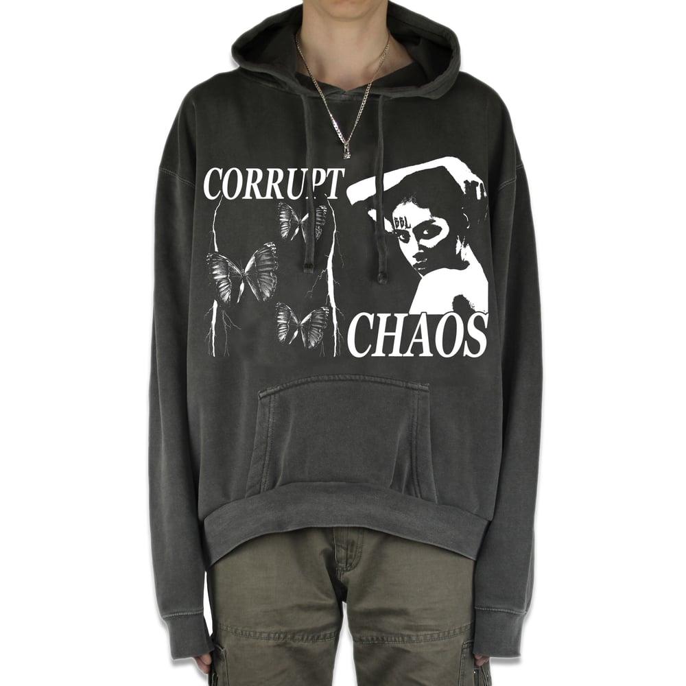 Image of Chaos Hoodie (black)