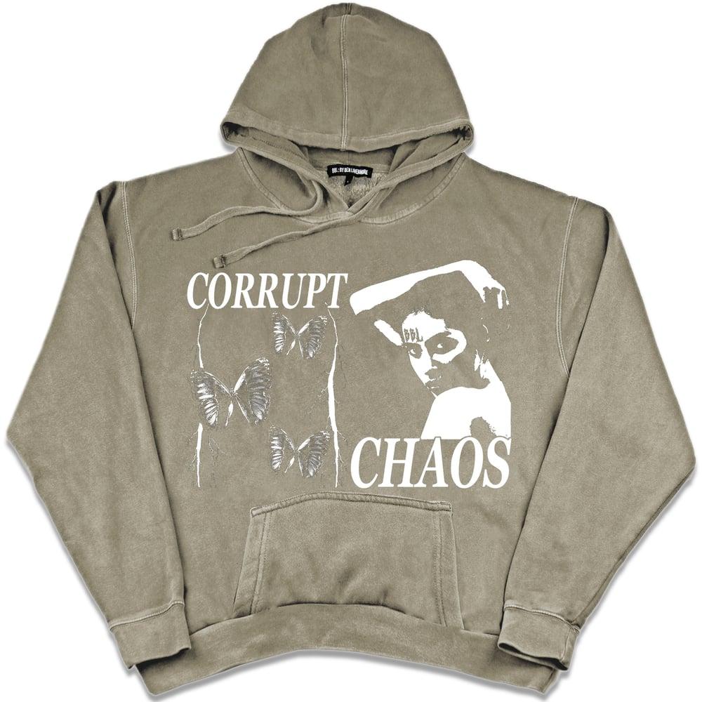 Image of Chaos Hoodie (beige)