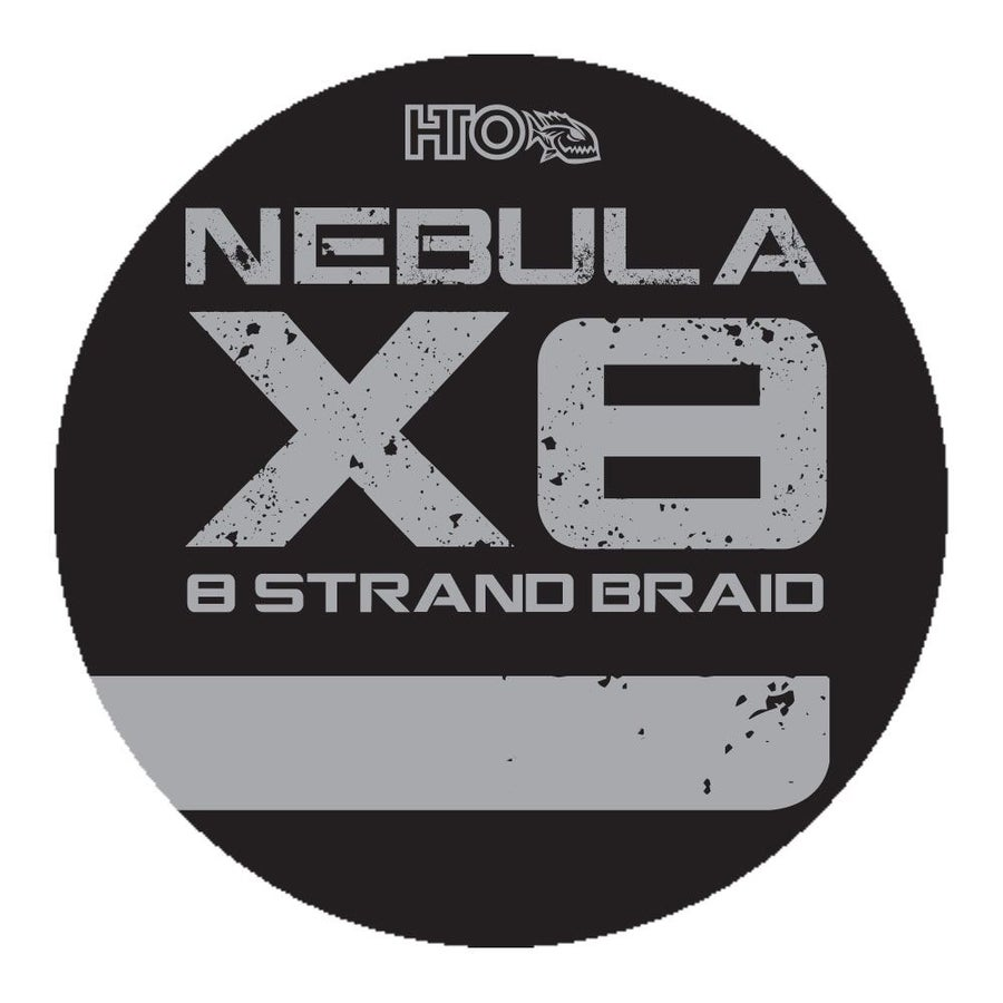 Image of HTO Nebula X8 Braid 150M (Fluoro Orange)
