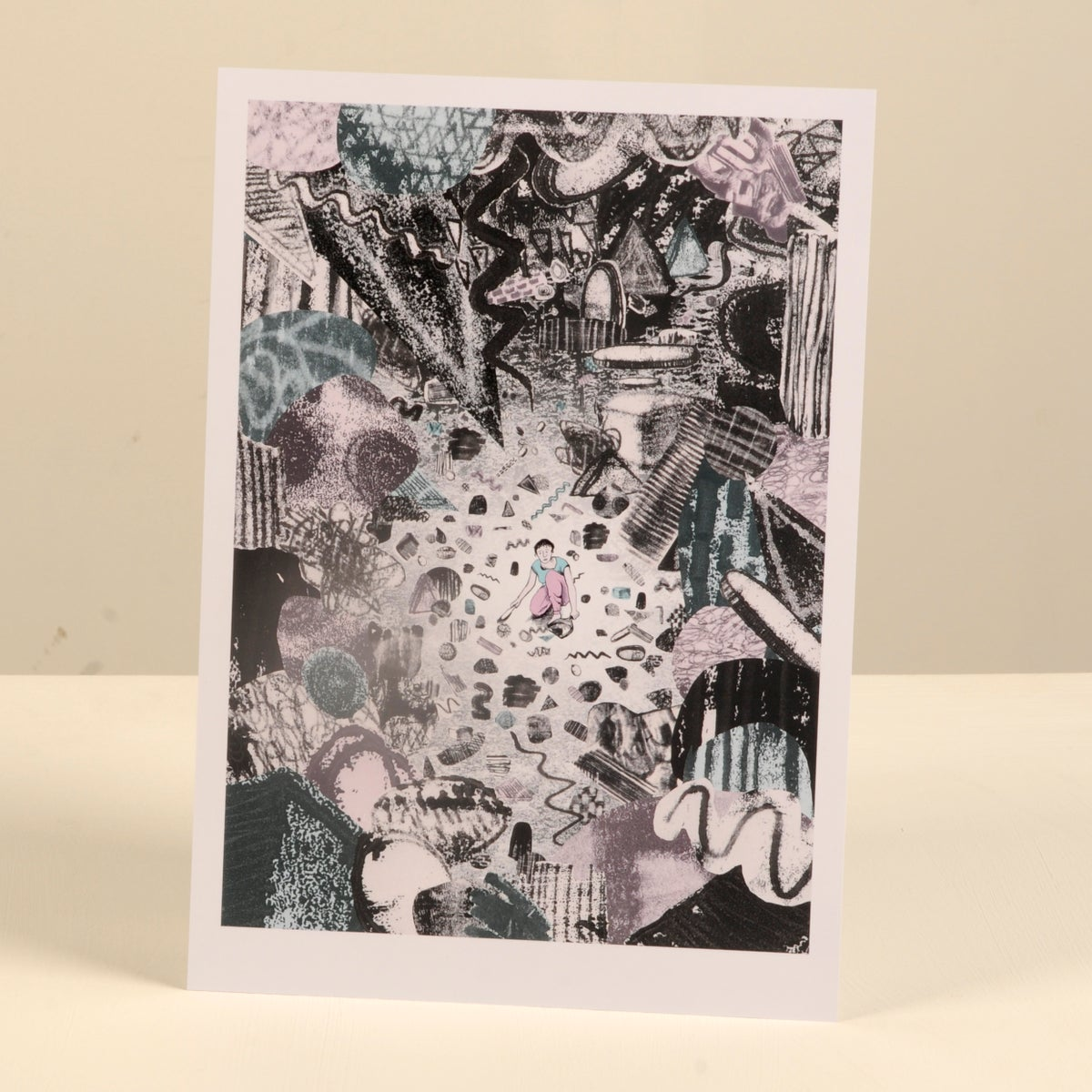Image of 'Chaos' print - A4