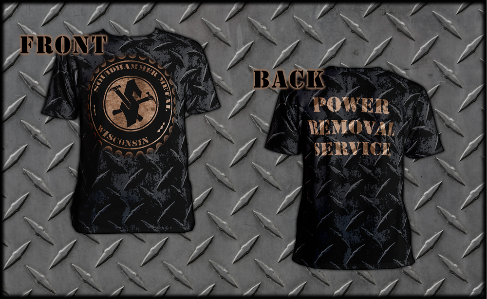 """Image of """"Power Removal Service"""" T-Shirt"""