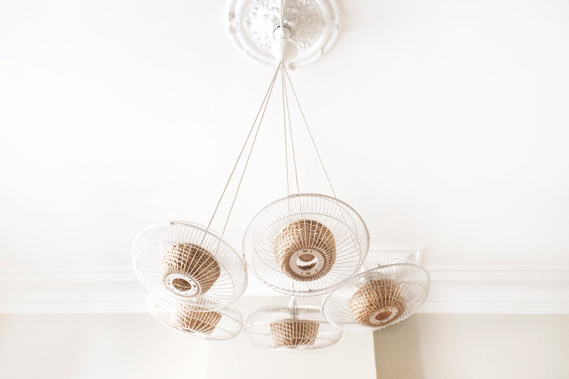 Image of FAN lamp~ White