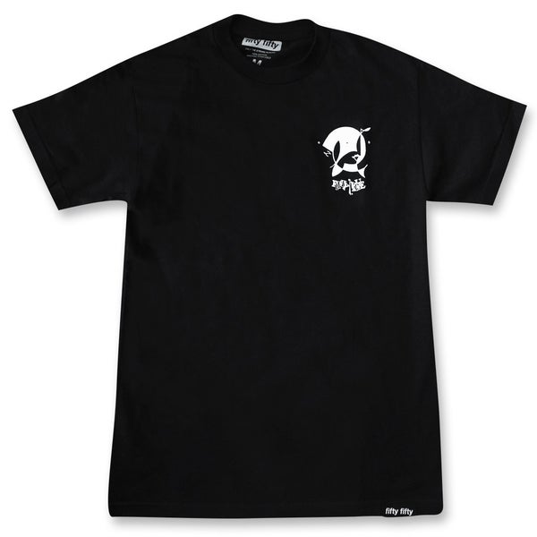 Image of Vague x Fifty Fifty T-shirt - Black
