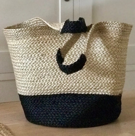 Image of Jute Shopping Basket