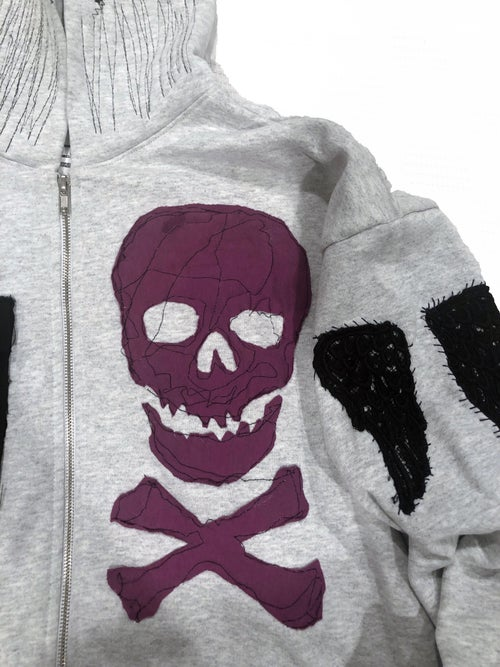 Image of ALMIGHTY HOODIE (ASH GREY)