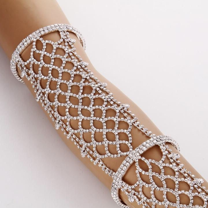 Image of Calle Crystal Arm Bracelet
