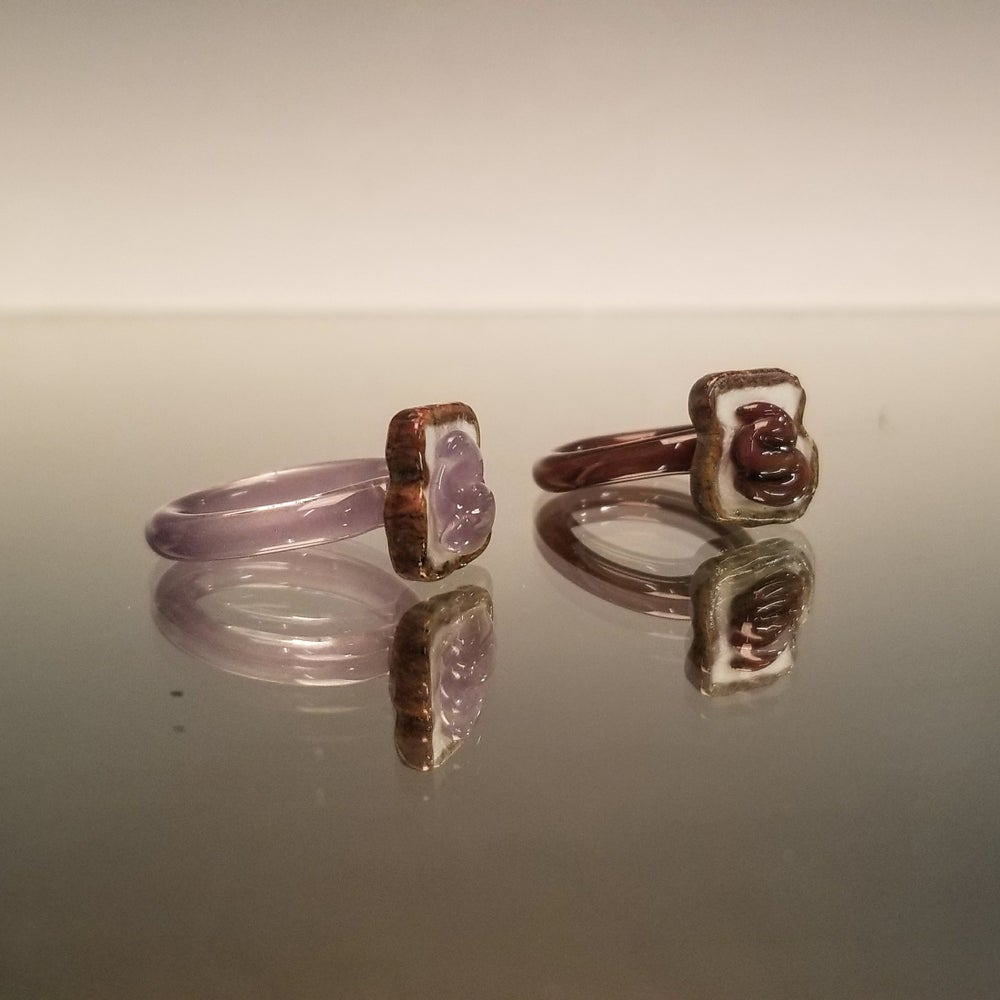 Image of PB & J Stackable Ring Set