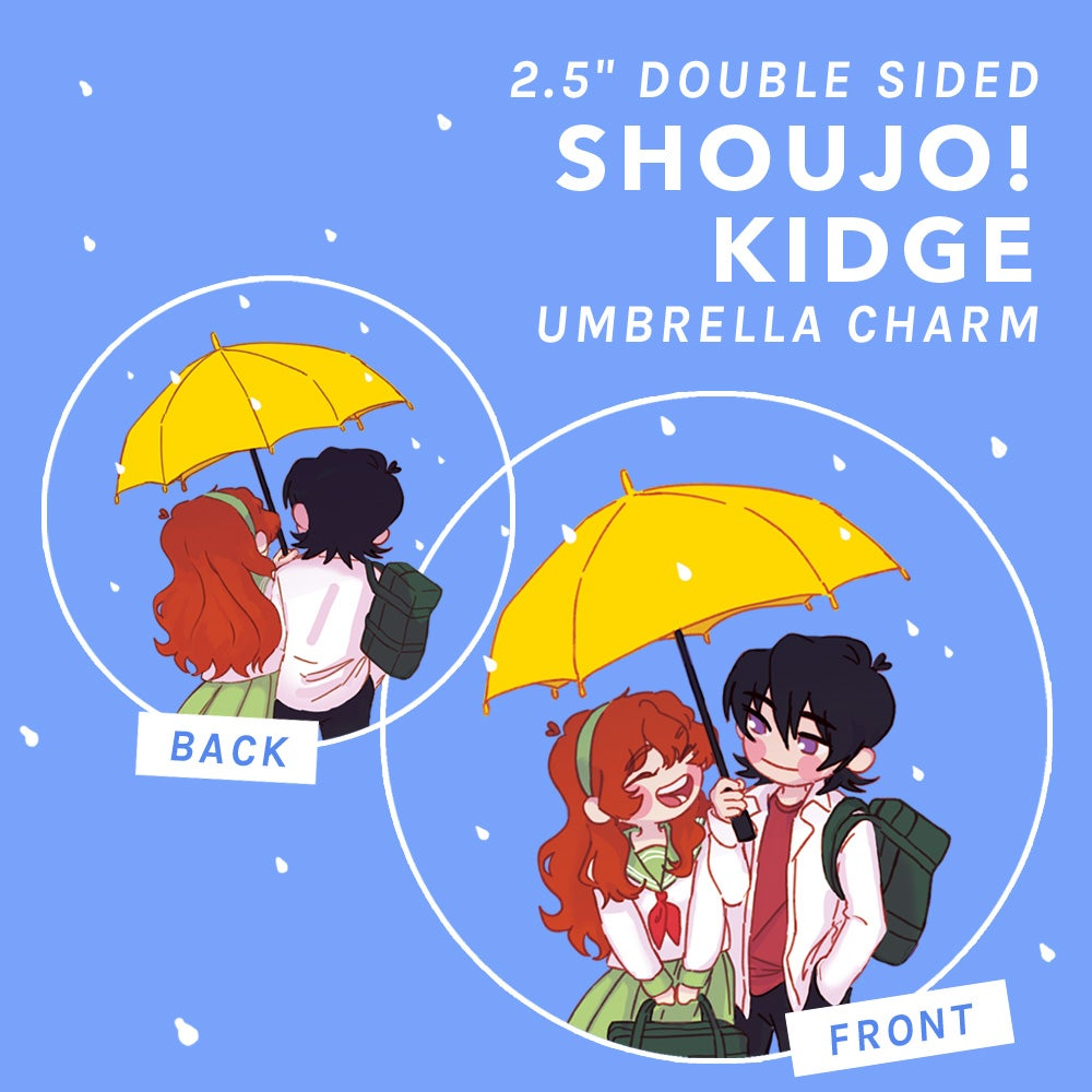 "Image of 2.5"" Shoujo!Kidge Umbrella Charm"