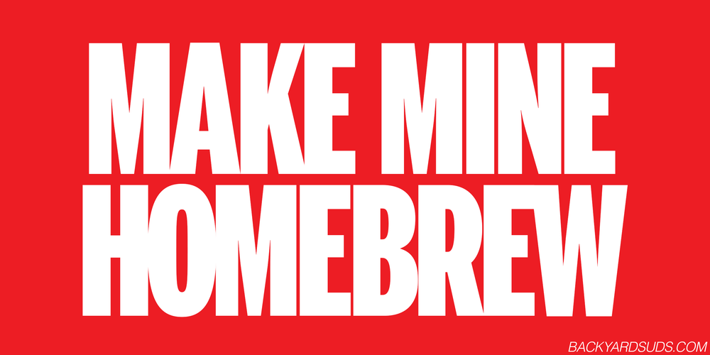Image of Make Mine Homebrew sticker