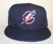 Image of Offical Perth Thunder Flat Peak Cap (Navy)