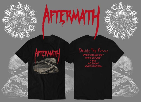 Image of PRE ORDER AFTERMATH : KILLING THE FUTURE DEMO SHIRT