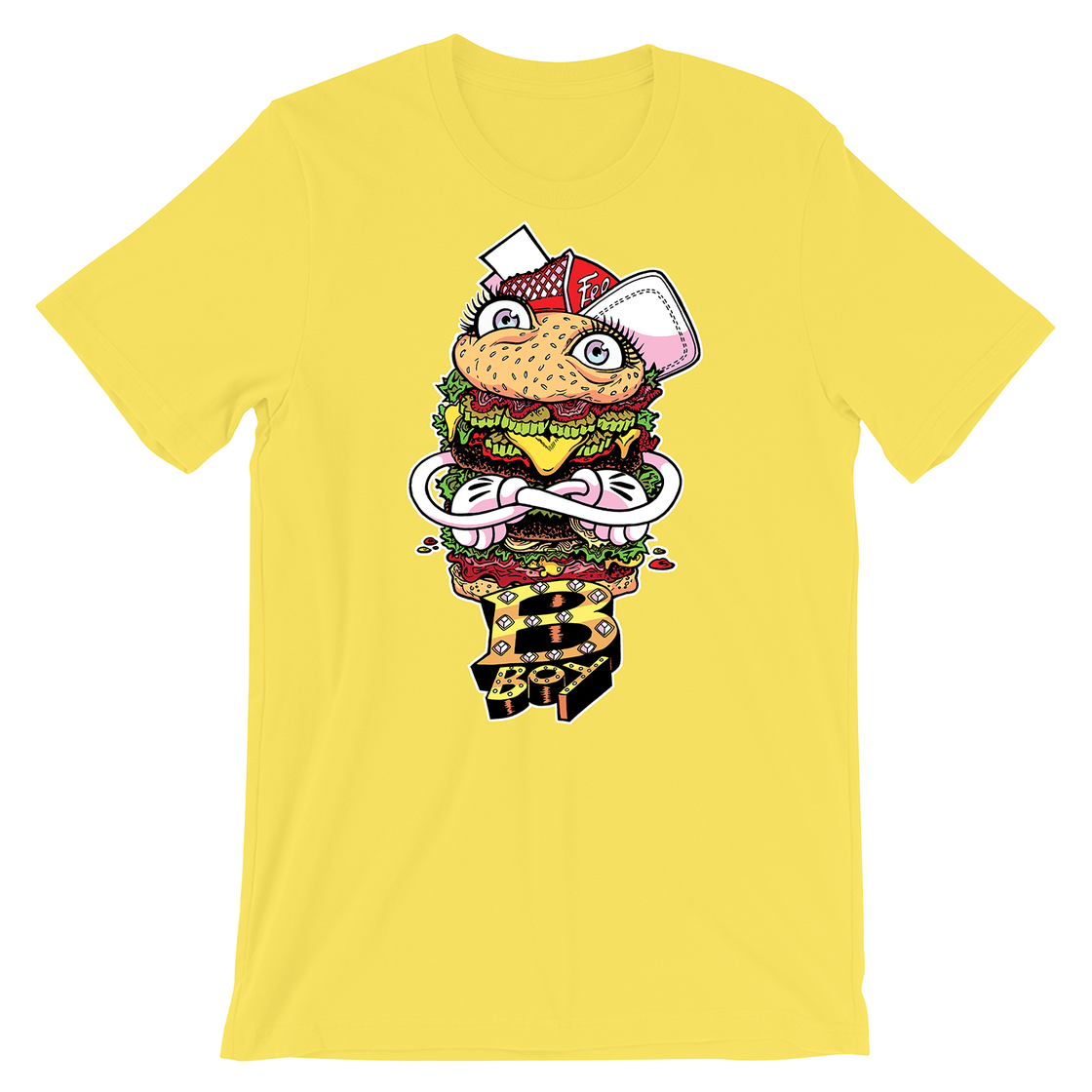 Image of Burger Boy Mustard T-Shirt