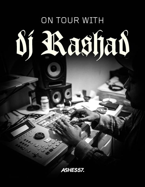 Image of ON TOUR WITH DJ RASHAD