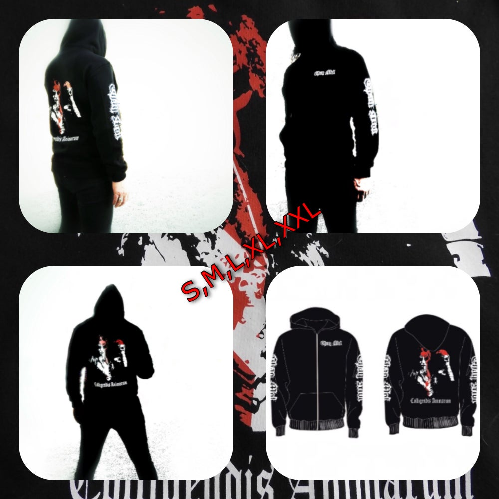 "Image of Chaq Mol Hoodie "" Colligendis Animarum"""