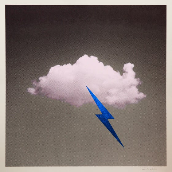 Image of 'Little Fucking Cloud' (Blue)