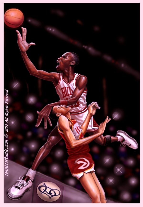 "Image of ""MJ LAYUP"""