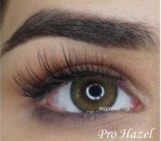 Image of Non prescription colored contact lenses