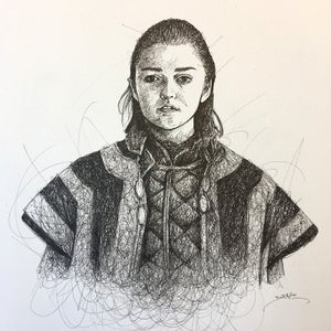 Image of Maisie Williams Doodle