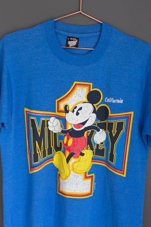 Image of 1980's Mickey Mouse - California Shirt