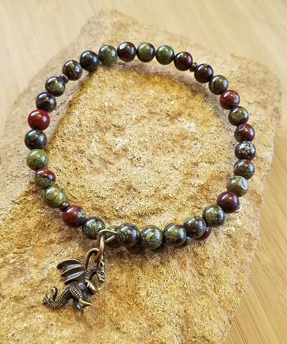 Image of Dragon Blood Jasper Bracelet