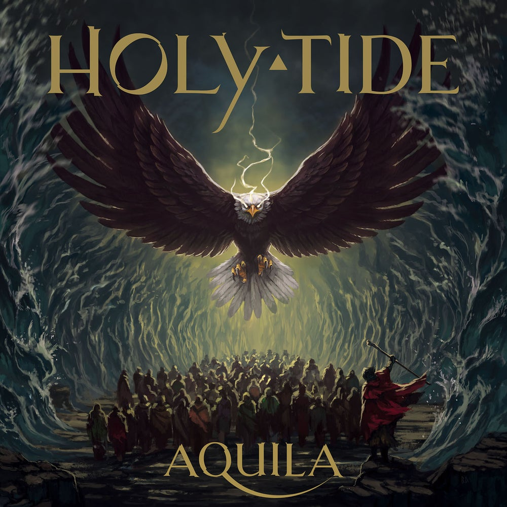 "Image of HOLY TIDE ""Aquila"" CD"