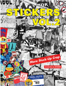 Image of STICKERS Volume 2  (all copies are signed by the author)