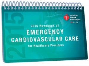Image of 2015 AHA Handbook of Emergency Cardiovascular Care