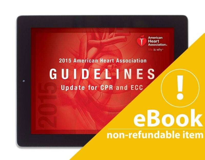 Image of 2015 AHA Guidelines eBook