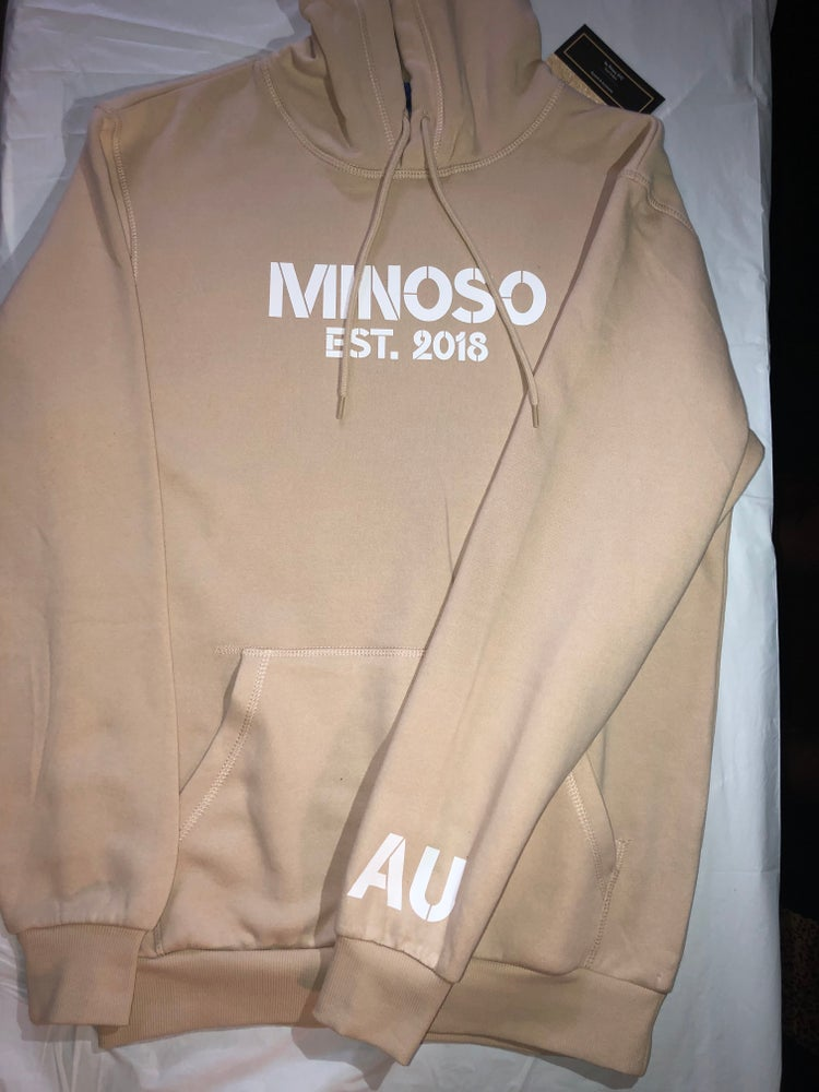 Image of Minoso Tan Pullover Hoodie