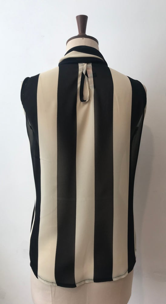Image of Stripe georgette lulu blouse