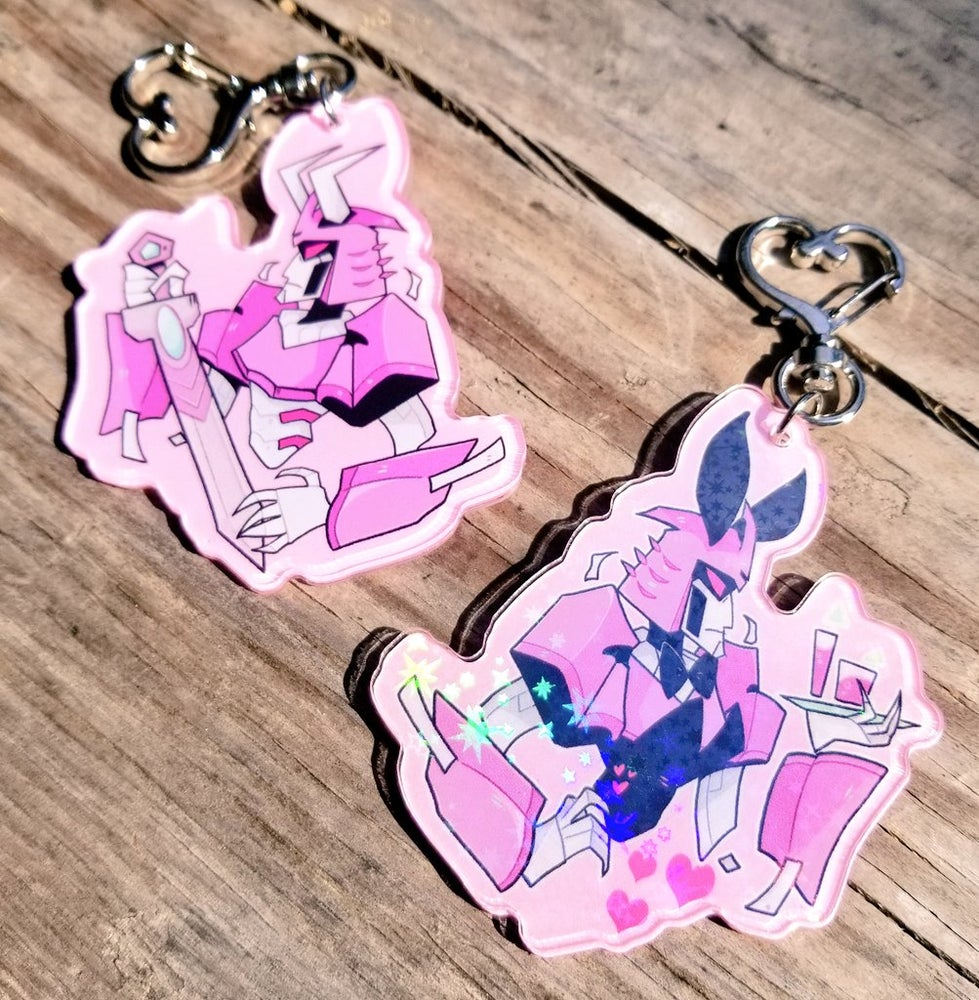 Image of CYCLONUS PLAYBOY HOLO CHARM