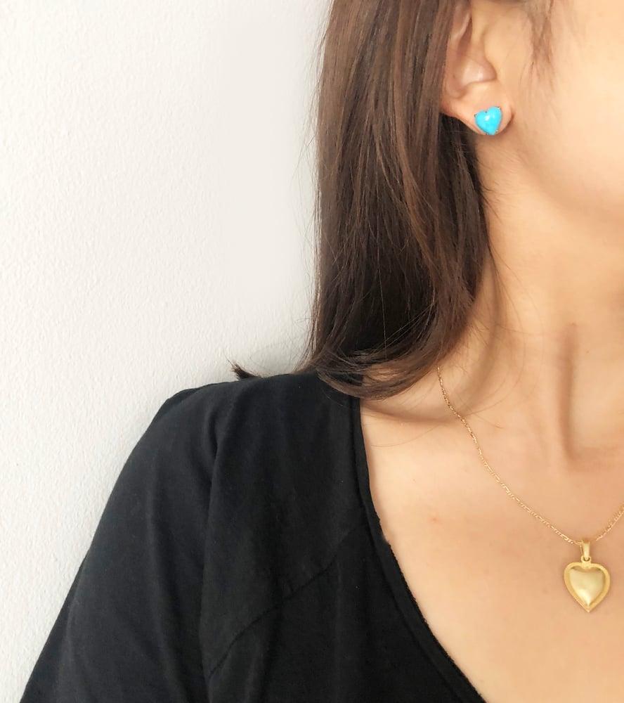 Image of Sleeping Beauty Turquoise Earring