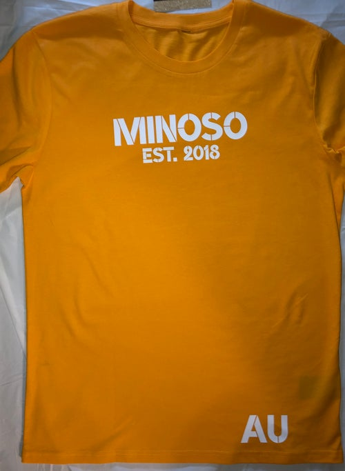 Image of YellowOrange Minoso Tee