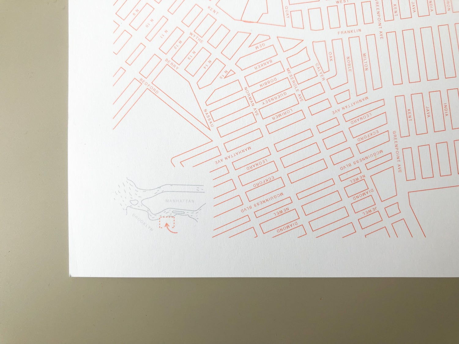 Image of My Map Greenpoint: 10 Blank Maps