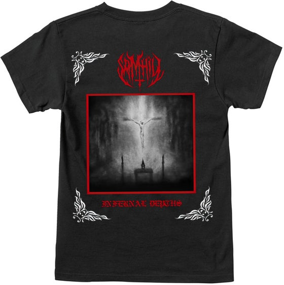 Image of Sam Hill Book One Infernal Depths Black Tee