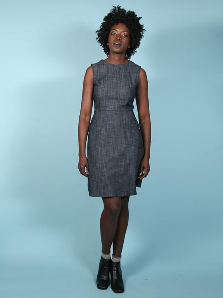 Image of Nooworks Denim Edie Dress