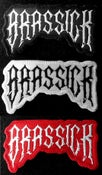 "Image of Embroidered ""Brassick"" Patches"