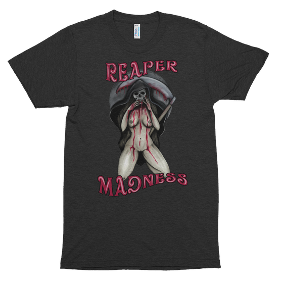 Image of REAPER MADNESS UNISEX TSHIRT