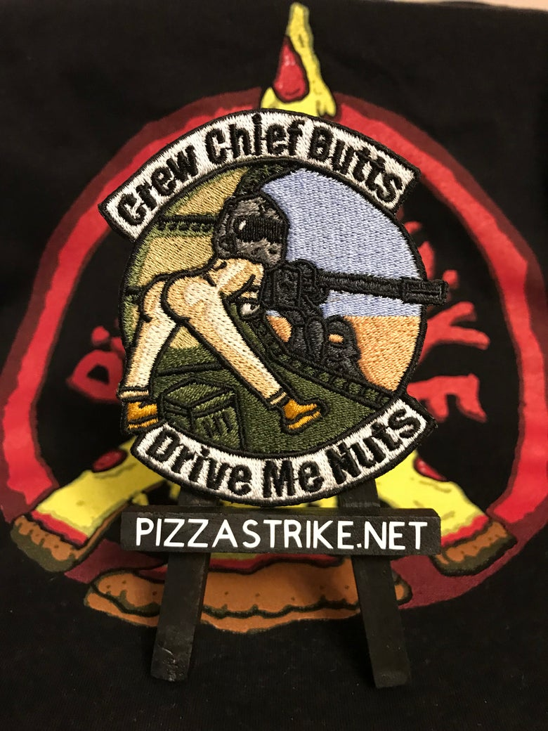 Image of Helicopter Crew Chief Butts Patch