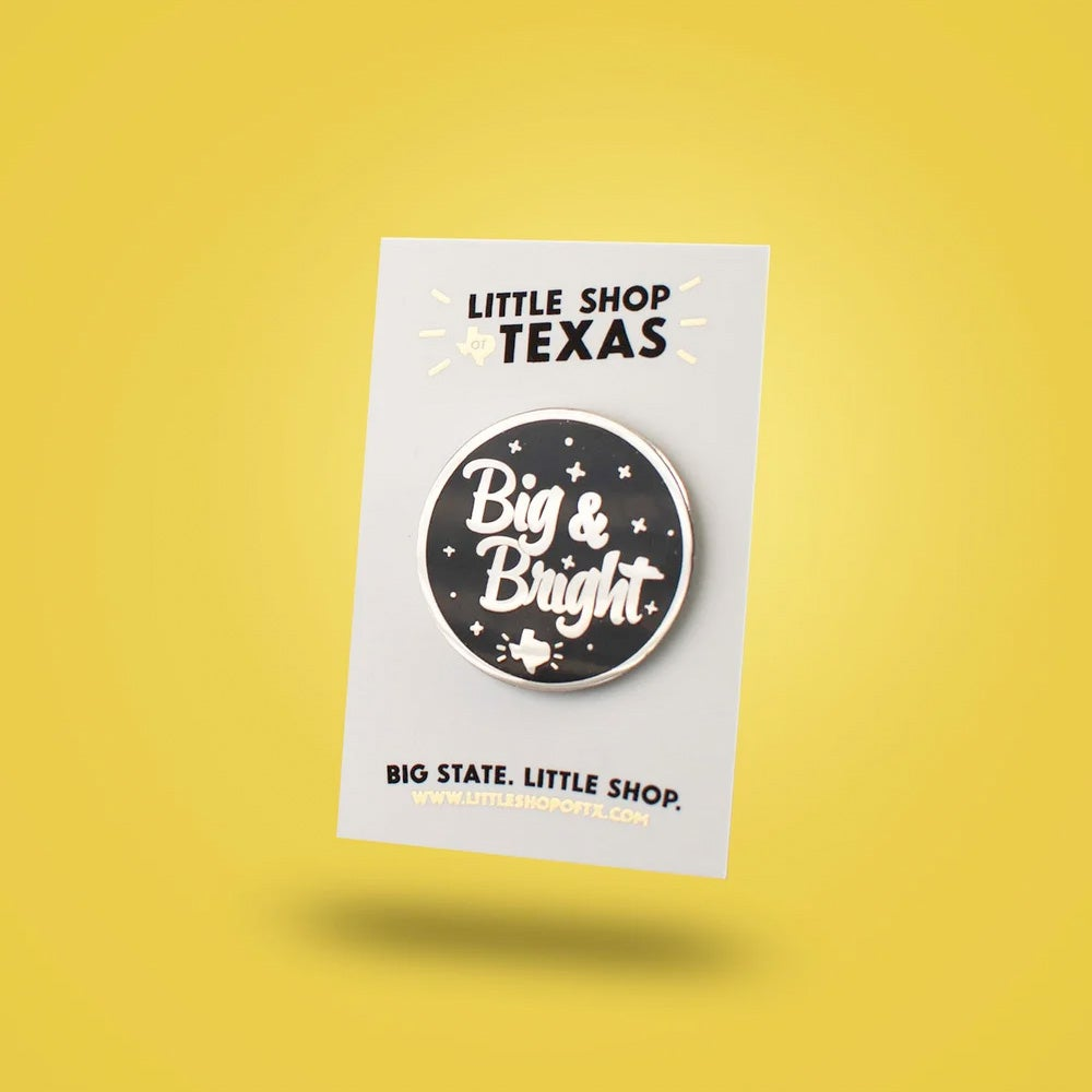 Image of Big & Bright enamel pin