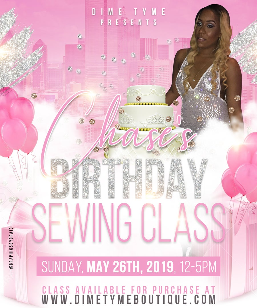 Image of Chase's Birthday Sewing Class