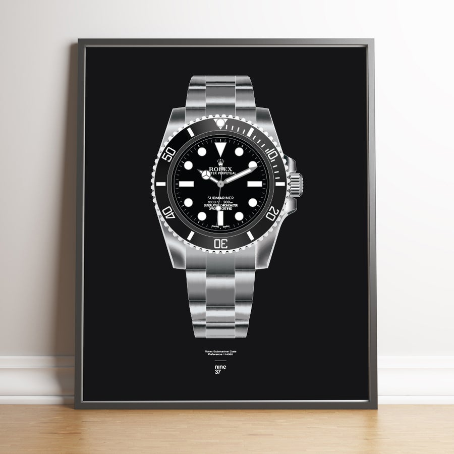 Image of Rolex Submariner 114060 Bracelet Print